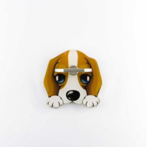 Calinou chien tout mignon bague support anneau 360 degres Phonebague spécialiste2