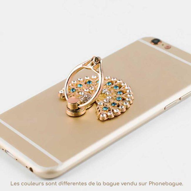 Paon bague anneau support pour telephone 360 degree phonebague spécialiste v3