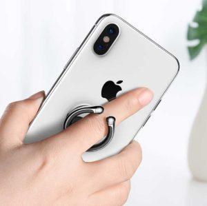Premium bague anneau support metal magnetique prise en mains 360° pour telephone phonebague specialiste