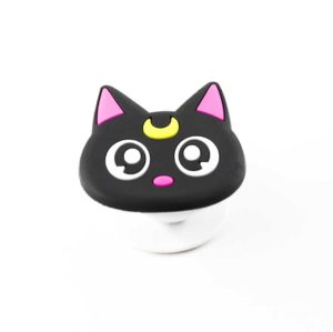 chacha chatlune airbag chat noir lune jaune bague support anneau pour telephone phonebague specialiste3