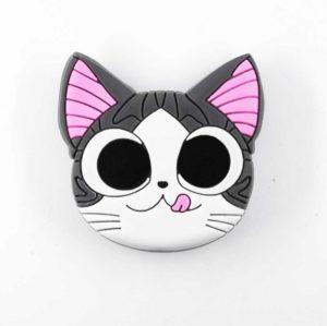 chacha chatmalin airbag chat gris bague support anneau pour telephone phonebague specialiste2