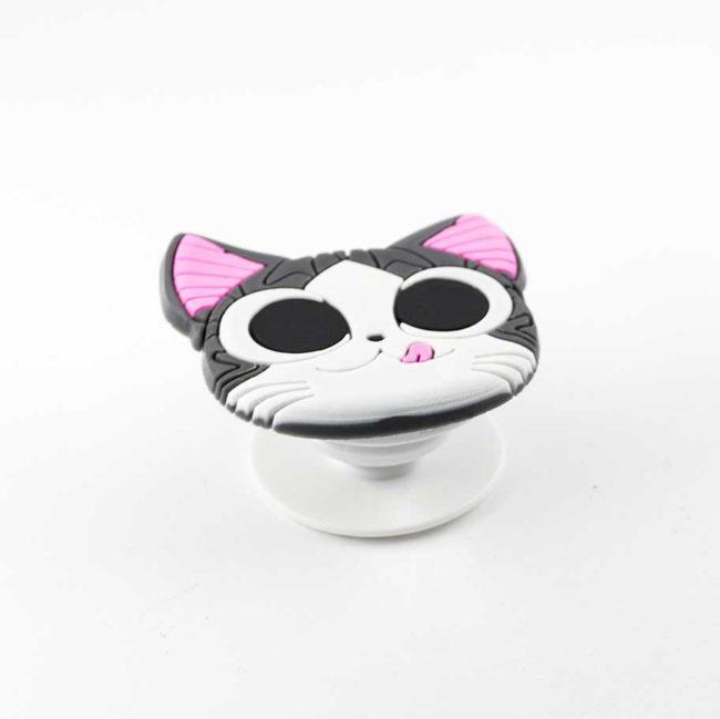 chacha chatmalin airbag chat gris bague support anneau pour telephone phonebague specialiste4