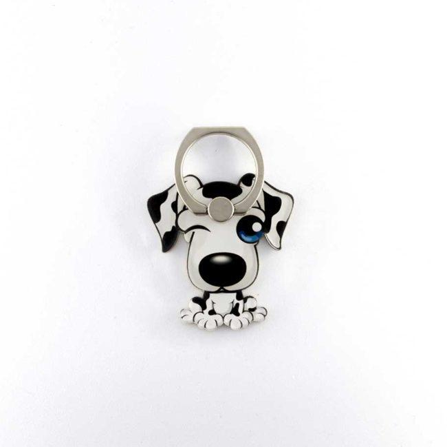 dalmatien 102eme 101 chien bague support anneau pour telephone 360 degres phonebague spécialiste