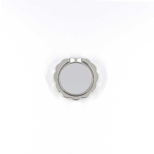 kiestlaplubelle bague support anneau argent gris metal magnetique voiture 360 degres phonebague specialiste