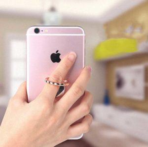 kiestlaplubelle bague support anneau miroir metal magnetique prise en main 360 phonebague specialiste