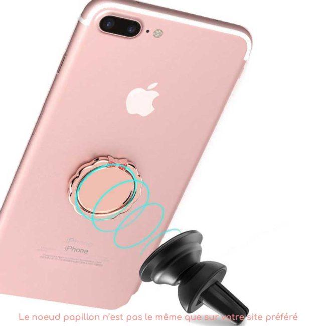 kiestlaplubelle bague support anneau miroir metal magnetique voiture 360 degres phonebague specialiste