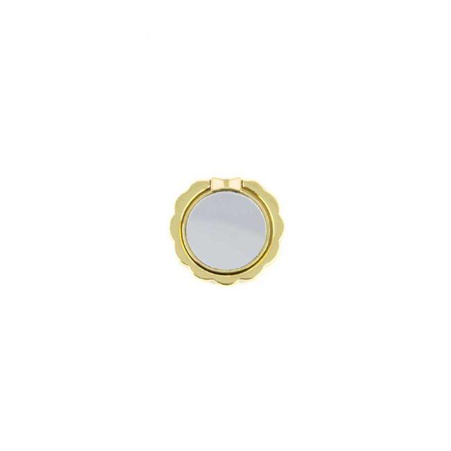 kiestlaplubelle bague support anneau or jaune doré metal magnetique voiture 360 degres phonebague specialiste v1