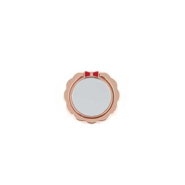 kiestlaplubelle bague support anneau rose or metal magnetique voiture 360 degres phonebague specialiste