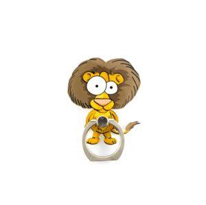 lion madagascar alex bague support anneau lion pour telephone 360 degres phonebague specialiste4