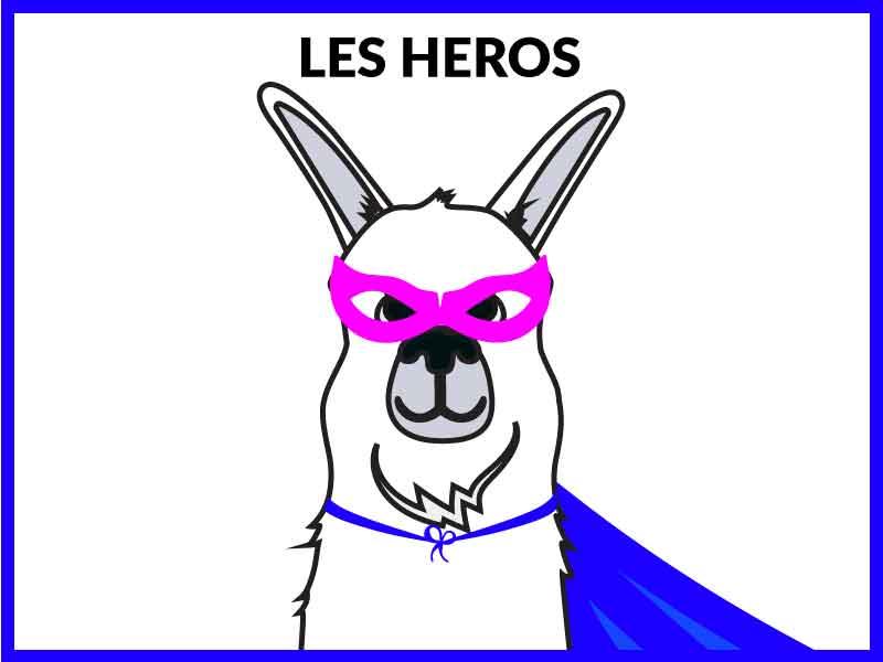 Collection de bague et support pour téléphone phonebague les heros