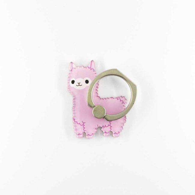 sergio le lama rose bague anneau support pour telephone 360 degres phonebague specialiste