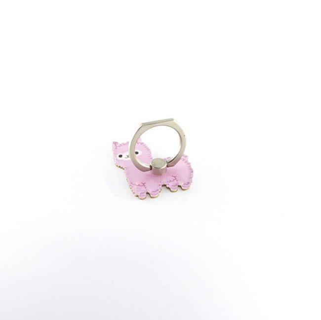 sergio le lama rose bague anneau support pour telephone 360 degres phonebague specialiste2